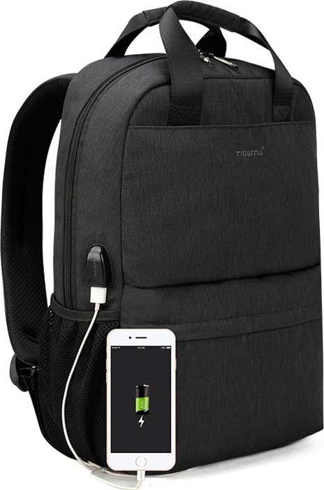 Tigernu T-B3508 Dark Grey, рюкзак для ноутбука 15,6 15 6 рюкзак для ноутбука tigernu t b3221 темно серый