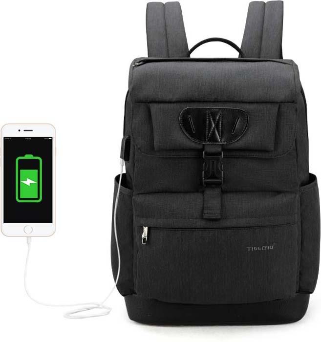 Tigernu T-B3513 Dark Grey, рюкзак для ноутбука 15,6