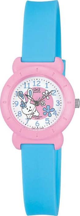 Часы наручные детские Q&Q, цвет: синий. VP81-001 q and q q868 001