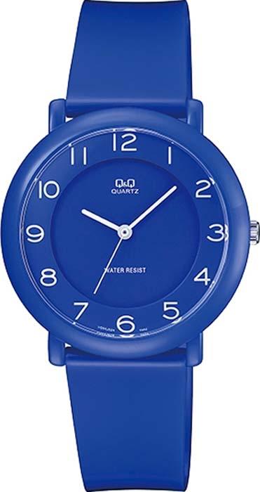 лучшая цена Часы наручные женские Q&Q, цвет: синий. VQ94-020