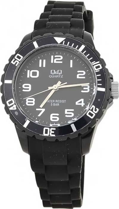 Часы наручные женские Q&Q, цвет: черный. Z101-001 q and q q868 001