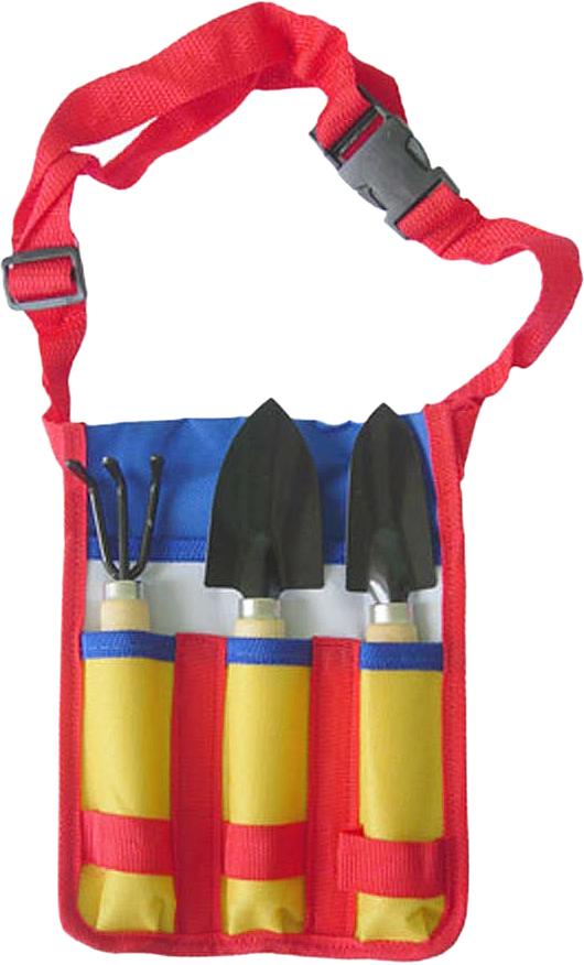 Набор садовых инструментов Грин Бэлт, 3 предмета совок садовый грин бэлт из нержавеющей стали 06 015