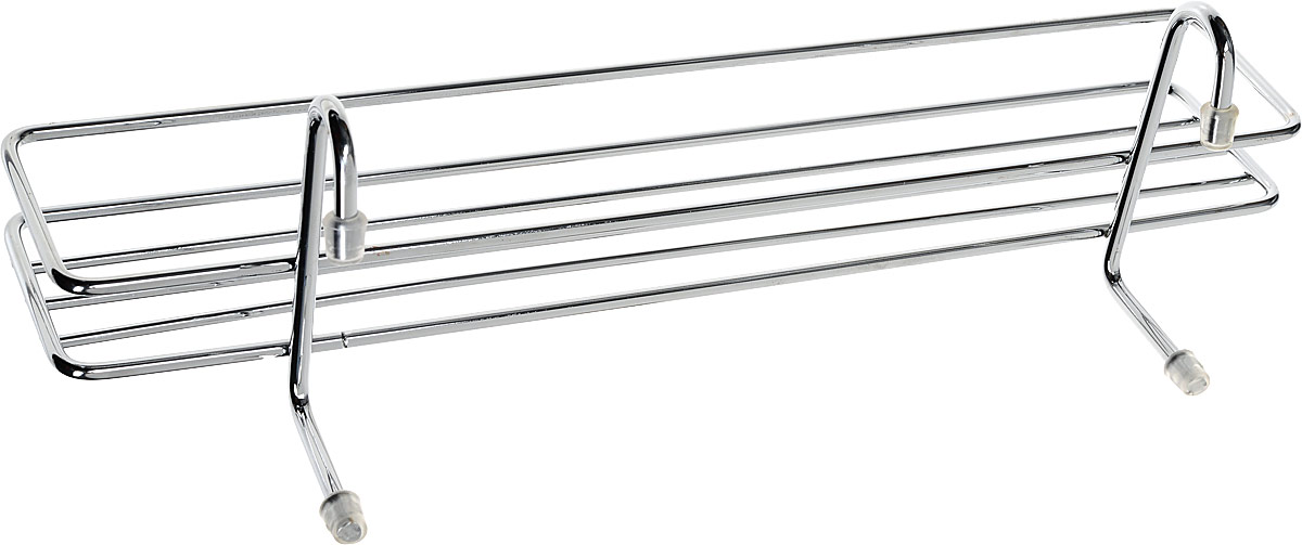 Полка для специй Lemax навесная на рейлинг цвет  хром 358 х 12 х 105 см