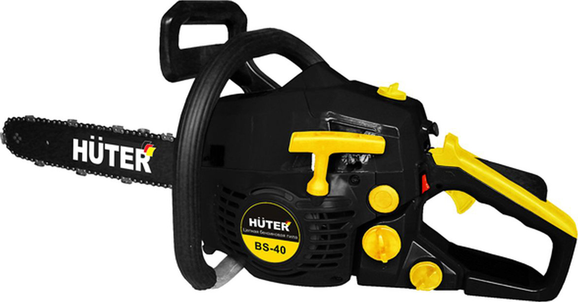 Бензопила Huter BS-40 Black-Yellow бензопила huter bs 40 black yellow