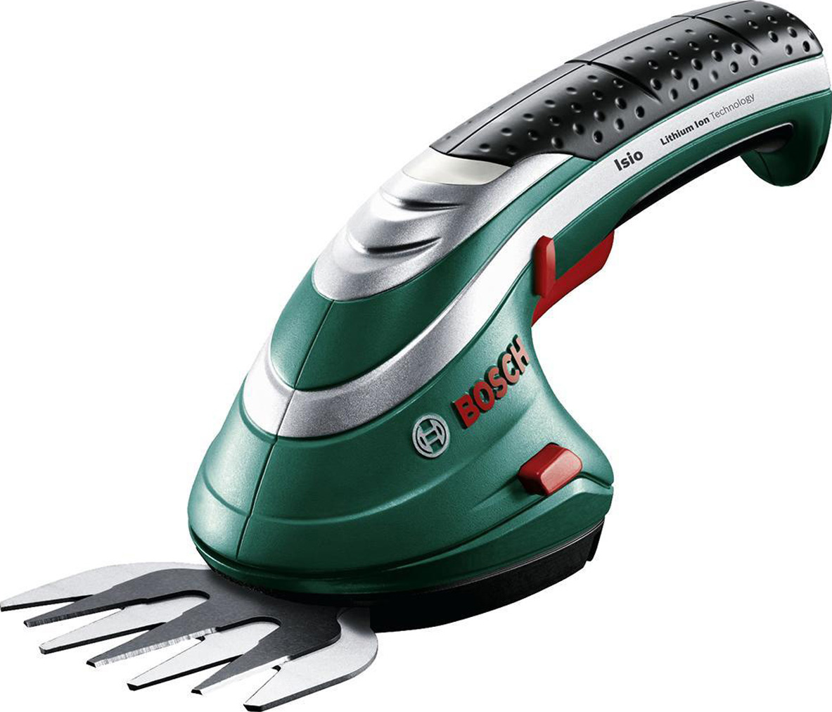 Аккумуляторные ножницы для травы Bosch ISIO 3 + чехол 0600833100 аккумуляторные ножницы bosch isio 3 для травы и кустов перчатки laura ashley 060083310m