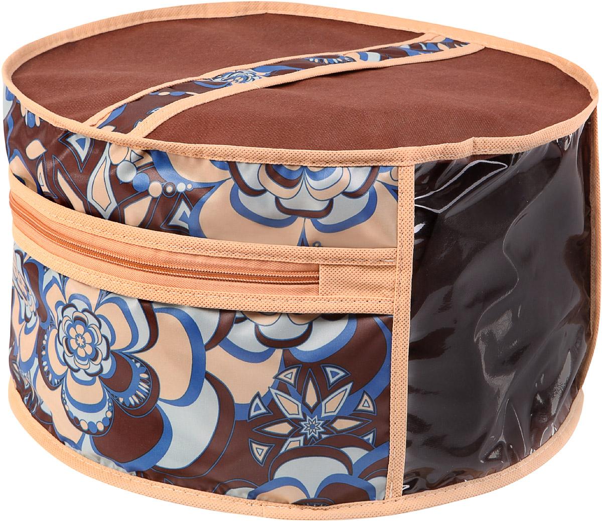 Чехол для шапок Cofret Прованс, диаметр 35 см для шитья головного убора нужна заготовка