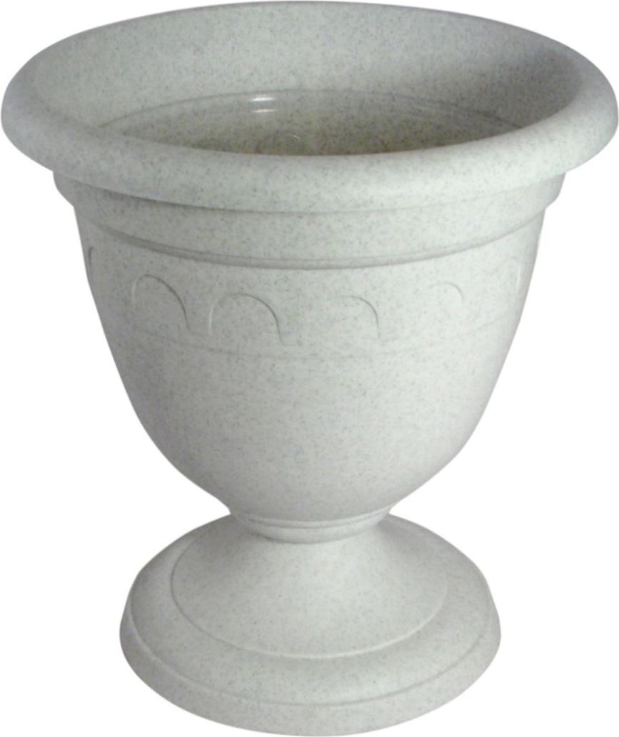 Вазон Martika Колывань, цвет: мрамор, 8,1 л вазон martika колывань цвет мрамор 8 1 л