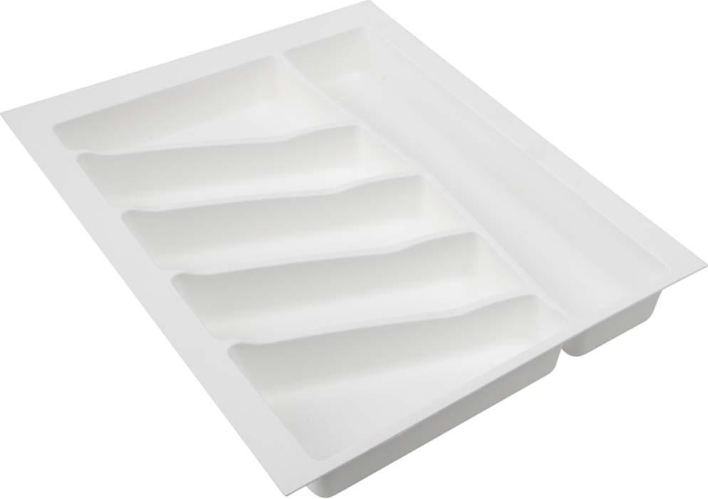 Лоток для столовых приборов VOLPATO, цвет: белый, 39 х 49 х 5 см32-76-NN45-BIЛоток для столовых приборов изготовлен из прочного и экологически чистого пластика. В такой лоток поместится большое количество столовых приборов, при этом они будут упорядочены. Лоток легко достать и помыть в случае необходимости. Благодаря наличию широких и мягких бортов лоток легко подогнать под нужный размер ящика. Рекомендуем!