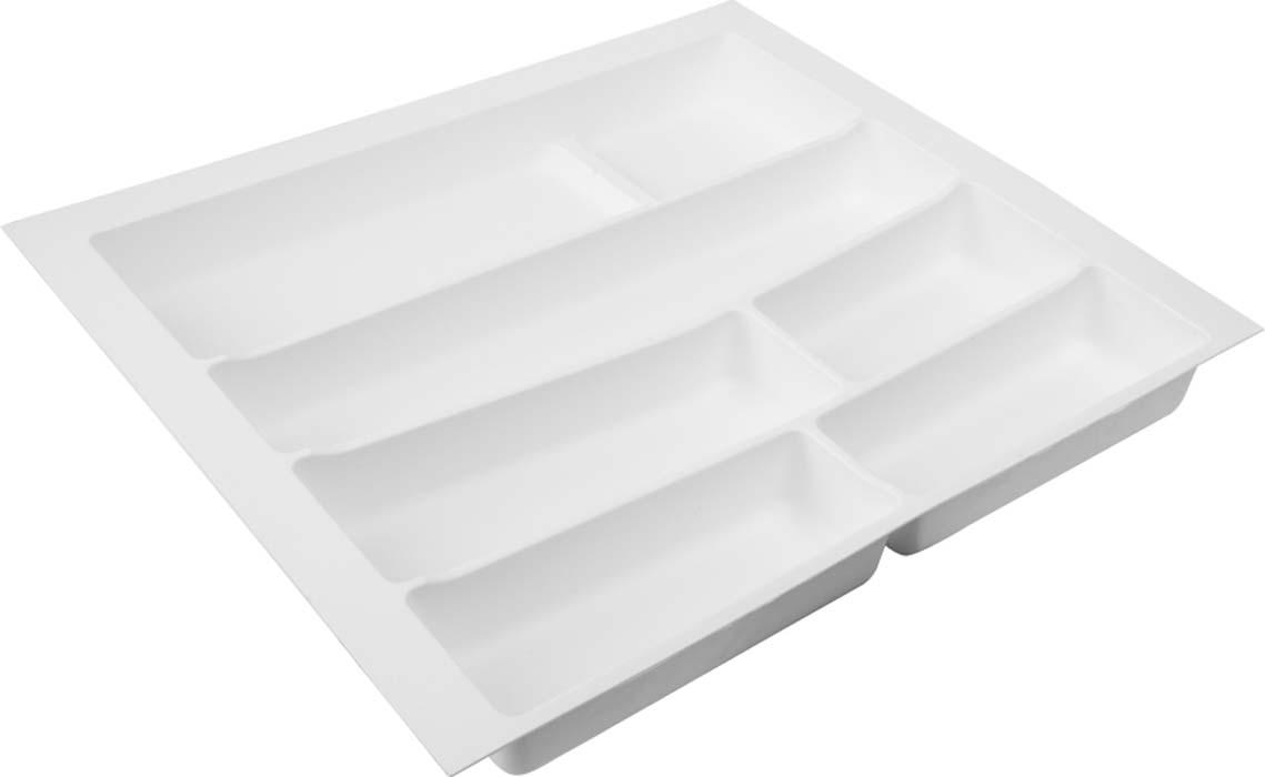 Лоток для столовых приборов VOLPATO, цвет: белый, 54 х 49 х 5 см цена