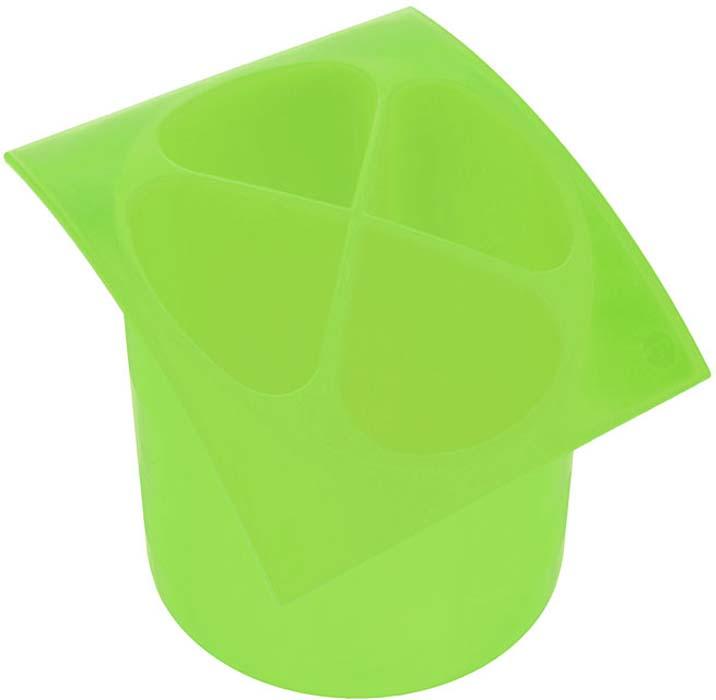 Подставка для столовых приборов Cosmoplast, цвет в ассортименте, диаметр 14 см подставка для столовых приборов kesperd с ручками цвет коричневый 38 х 32 х 4 см