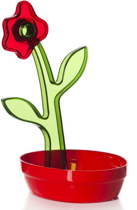 "Подставка под ложку ""Herevin"", цвет: красный"