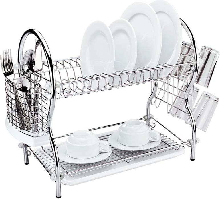 "Сушилка для посуды ""Mayer & Boch"", двухъярусная, 54 х 25 х 45 см"