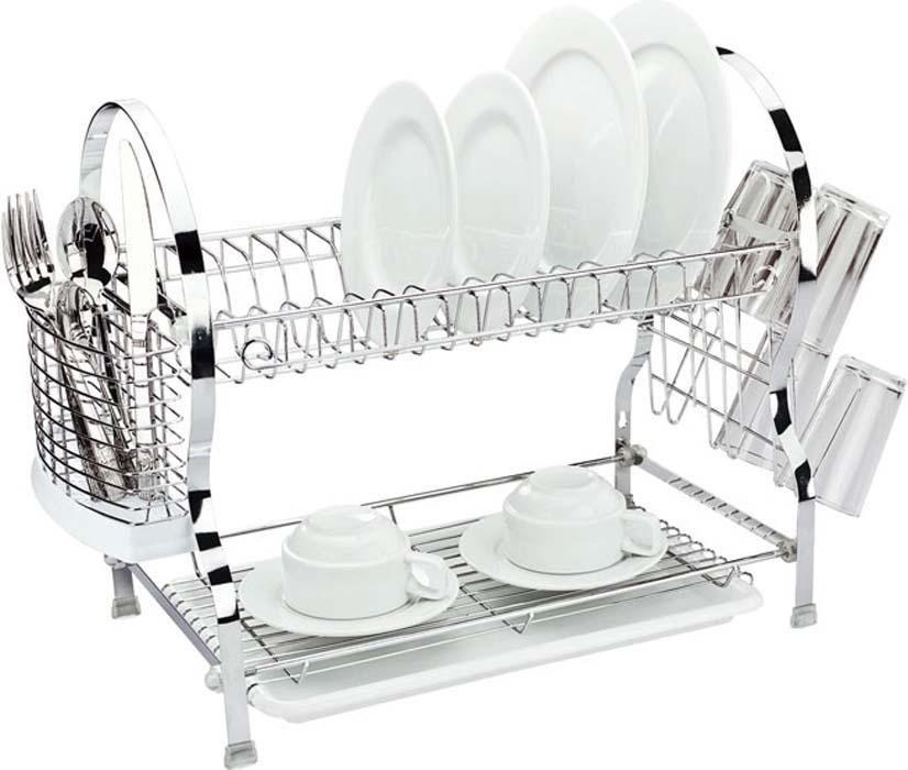 "Сушилка для посуды ""Mayer & Boch"", двухъярусная, 54 х 26 х 41 см"
