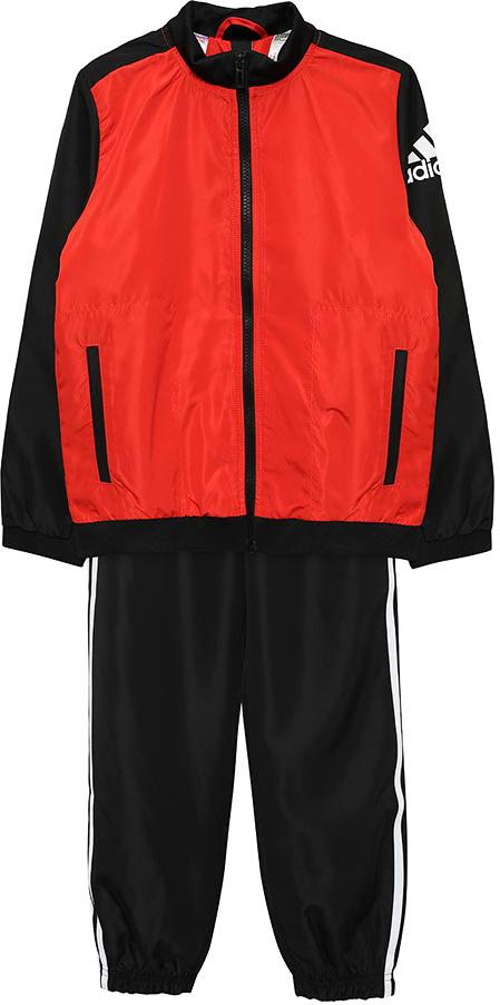 Спортивный костюм adidas спортивный костюм для мальчика adidas yb ts tiro цвет черный белый dv1738 размер 152