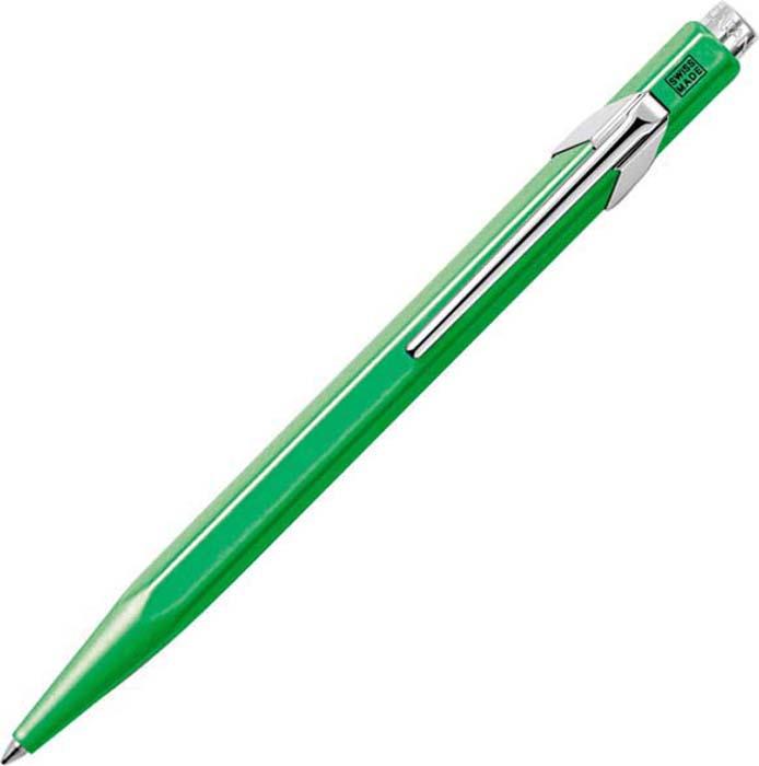 Caran d'Ache Ручка шариковая Office 849 Pop Line цвет корпуса: зеленый, цвет чернил: синий