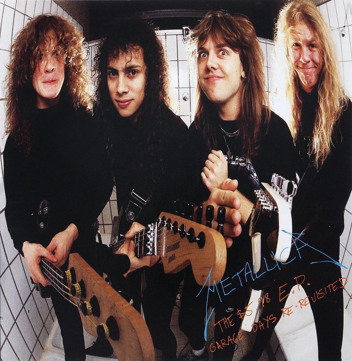 Metallica Metallica. The $5.98 E.P Garage Days Re-Revisited metallica garage inc