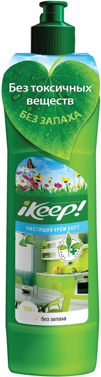 Крем чистящий Ikeep Soft, универсальный, 700 мл универсальный чистящий крем nordland