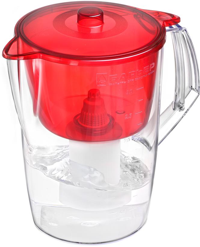 Фильтр-кувшин Барьер Лайт, цвет: красный цена