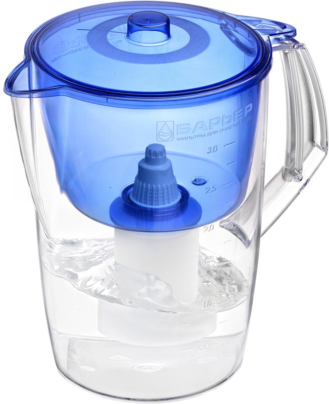 Фильтр-кувшин Барьер Лайт, цвет: синий цена