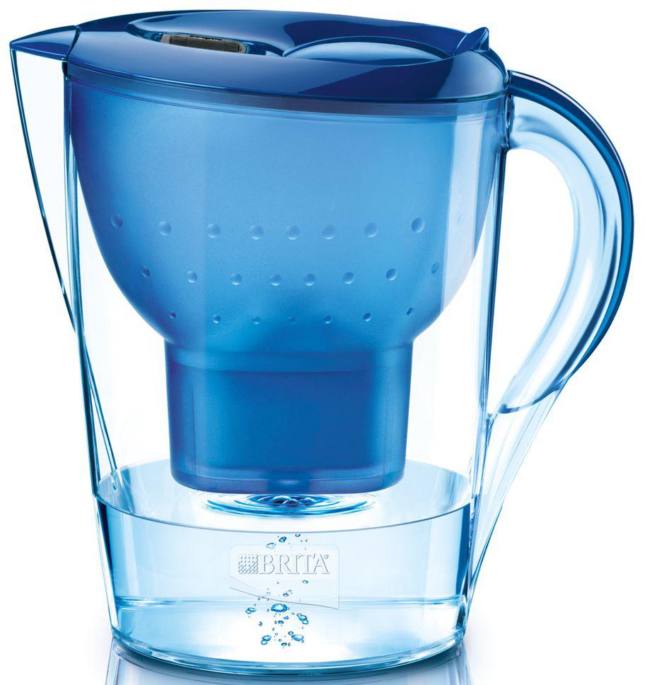 """Фильтр-кувшин для воды Brita """"Marella XL"""", цвет: синий, 3,5 л"""