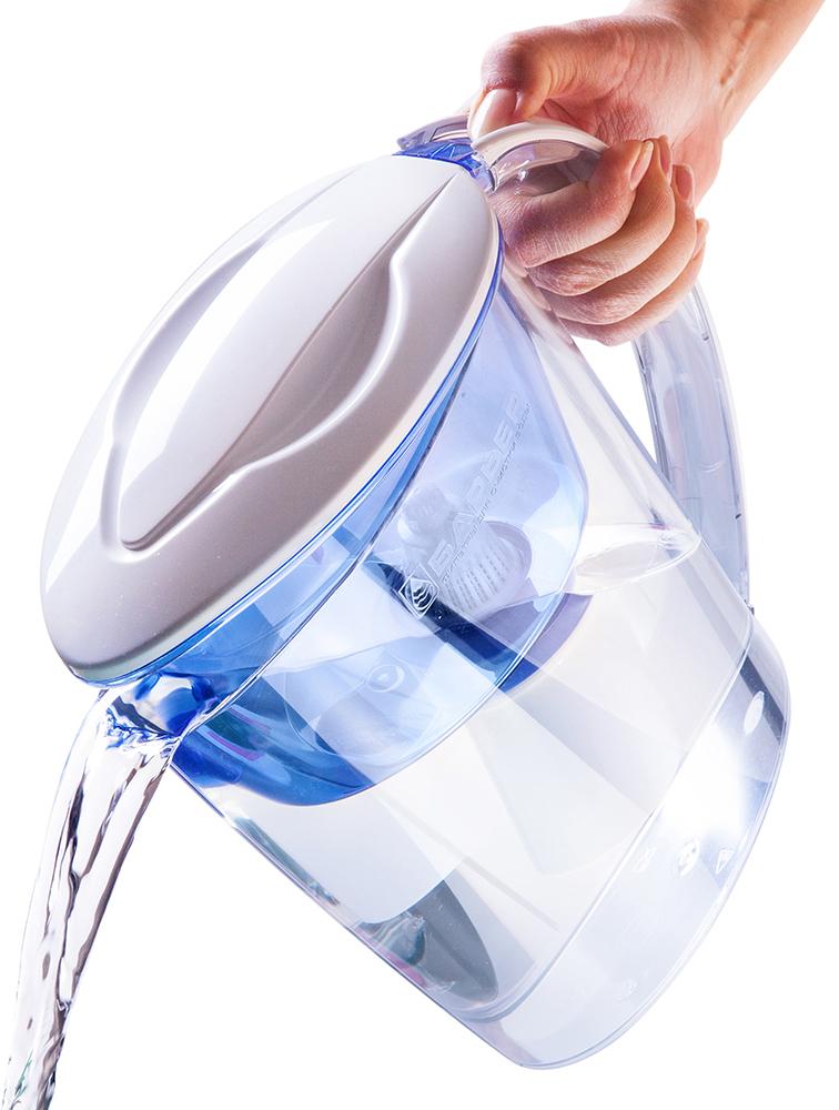 Фильтркувшин для воды Барьер Экстра цвет индиго .