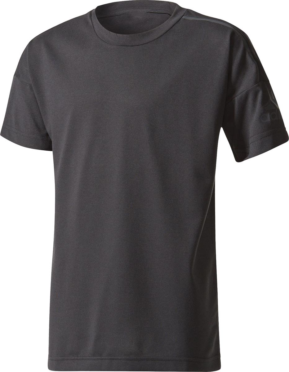 e3d23ef76923 Комфортная детская футболка Adidas Yb Zne Tee для тренировок и  повседневного использования. Модель изготовлена из тонкого трикотажного  материала для удобной ...