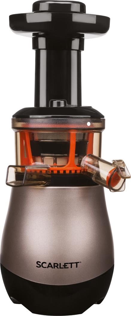 Соковыжималка Scarlett SC-JE50S43, Chocolate