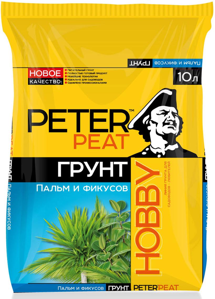 Грунт Peter Peat Пальмы и фикусы, 10 л contrast lace feather print dress