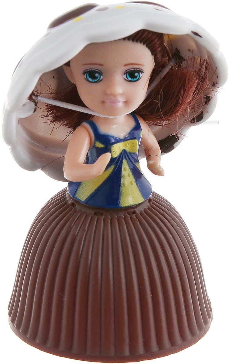 1TOY Кукла-трансформер Пироженка-Сюрприз Mini Шоколад 9 смТ11572_шоколадИзумительная куколка-крошка «Пироженки MINI» с ароматом шоколада, которая легко превращается из пирожного в куколку и обратно. Пластмассовая верхушка пирожного служит куколке шляпкой. Сама корзиночка пирожного прячет внутри куколку – её просто нужно легким движением вывернуть наружу, превратив гофрированную корзиночку в плотную юбку. Вот это сюрприз!!!