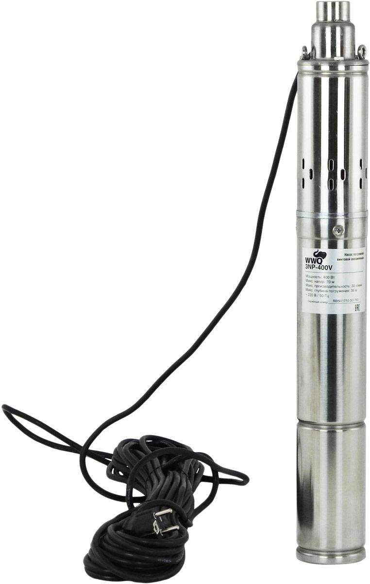 Насос винтовой погружной WWQ 3NP-400V насос зубр нпб 300 погружной бочковой низкого давления высота подачи воды 9м 41л мин 300вт