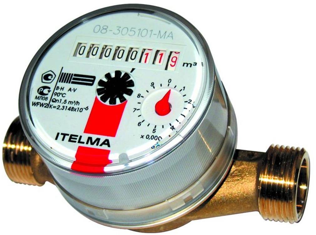 Счетчик горячей воды ITELMA WFW20.D110 цены