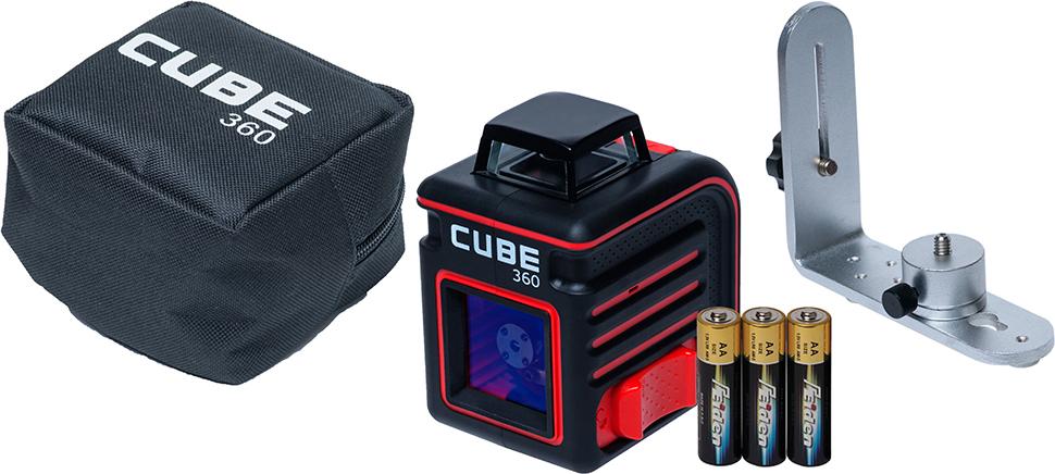 """Построитель лазерных плоскостей ADA """"Cube 360 Home Edition"""""""