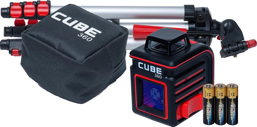 """Построитель лазерных плоскостей ADA """"Cube 360 Professional Edition"""""""