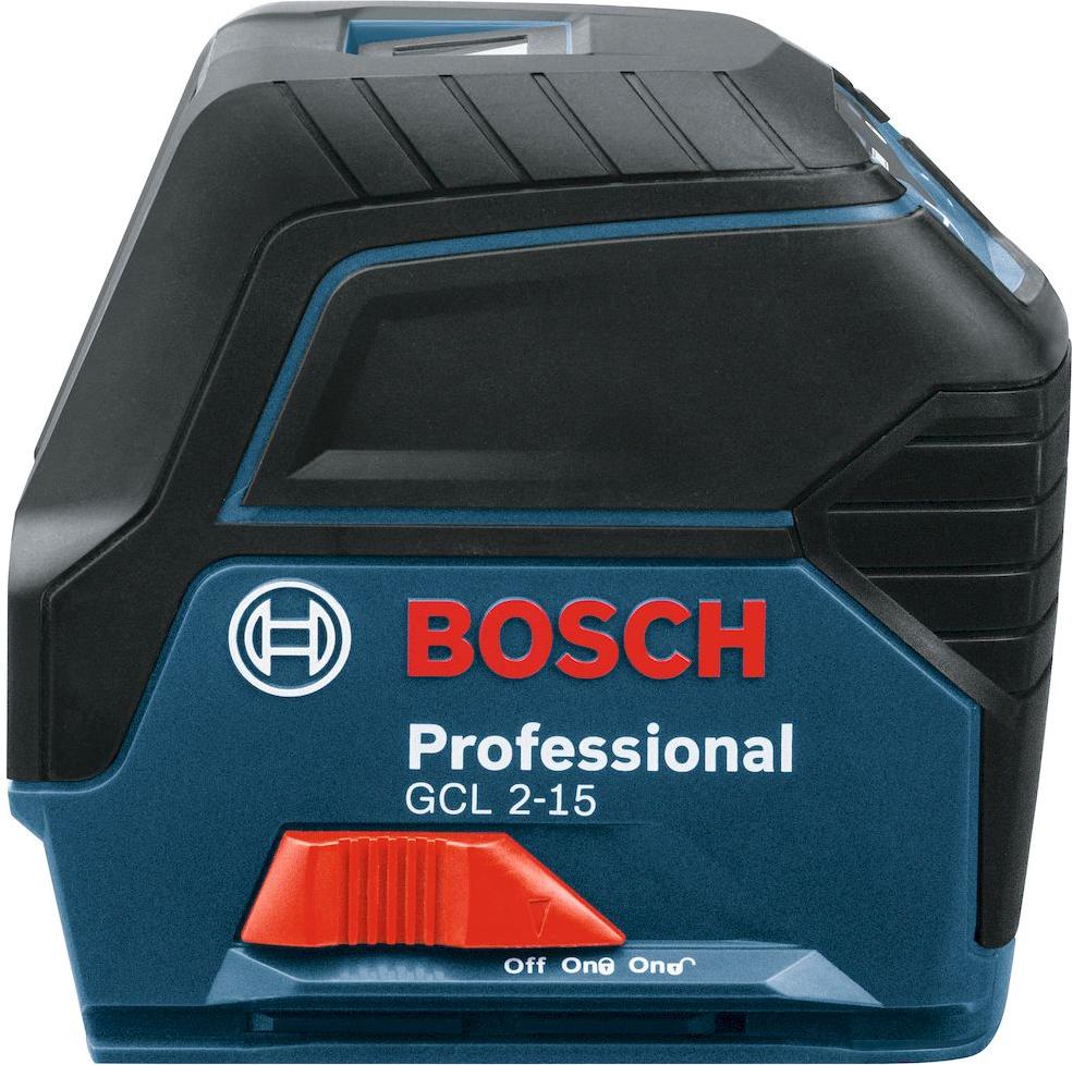 Нивелир Bosch GCL 2-15, с держателем RM1, лазерный лазерный нивелир bosch gcl 2 15 rm1