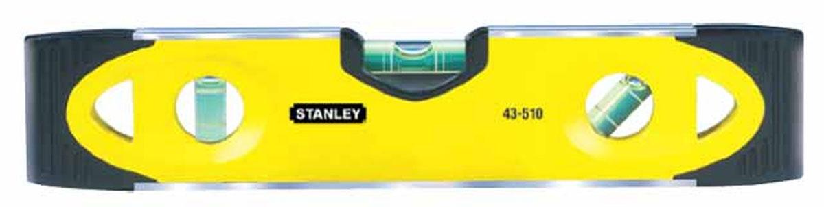 Уровень магнитный Stanley Torpedo, 3 капсулы, цвет: желтый, 23 см hatsan torpedo 150