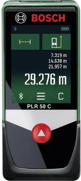 Лазерный дальномер Bosch PLR 50 C дальномер bosch plr 50 c 0603672220