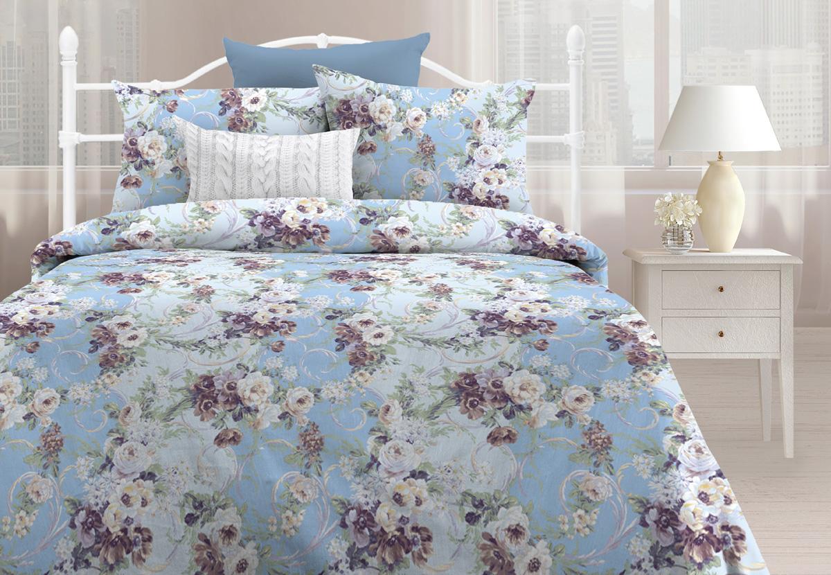 Комплект постельного белья Любимый дом Мелани, 1,5 спальное, наволочки 70 х 70 любимый дом полотенце махровое клео 35 70 любимый дом фиолетовый