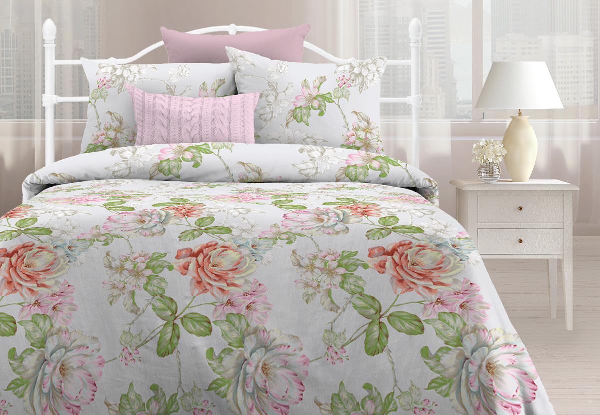 Комплект постельного белья Любимый дом Лорен, 2-х спальное, наволочки 70 х 70 любимый дом полотенце махровое клео 35 70 любимый дом фиолетовый