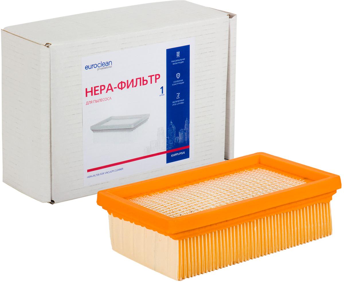 Euroclean KHPM-MV4 фильтр складчатый для сухой пыли к пылесосам KARCHER (аналог 2.863.-005.0) пылесборник для сухой уборки euro clean e 08