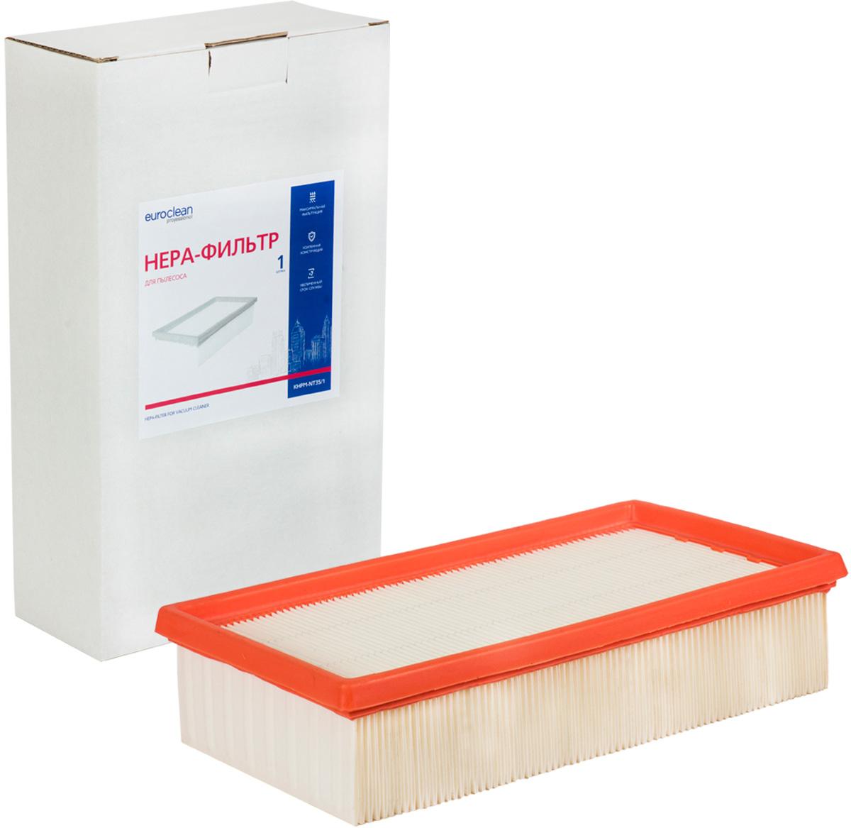 Euroclean KHPM-NT35/1 фильтр складчатый для сухой пыли к пылесосам KARCHER (аналого 6.904-367.0)