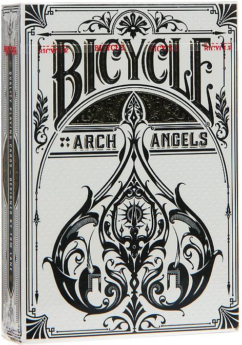 Карты игральные Bicycle Arch Angel, цвет: белый, 54 карты. 9106 игральные карты bicycle spectrum deck цвет мультиколор 56 шт