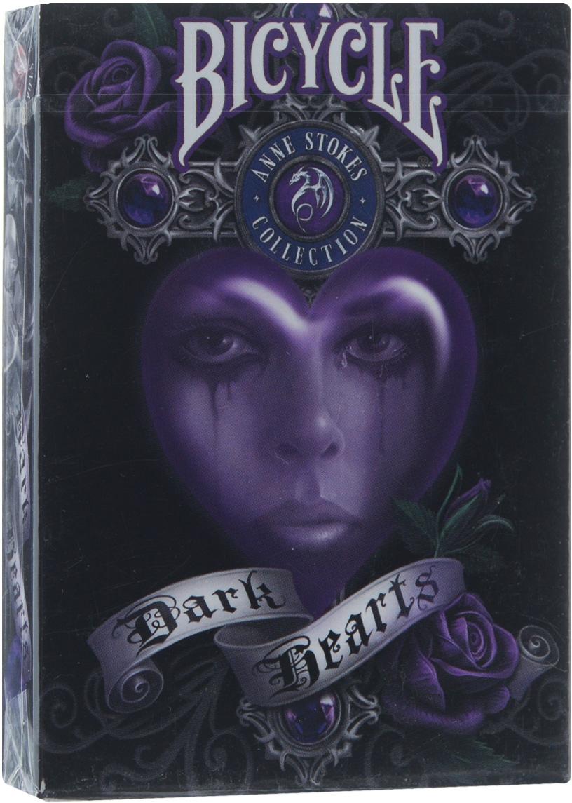 Карты игральные коллекционные Bicycle Dark Hearts, 54 карты карты игральные коллекционные bicycle tragic royalty 54 шт