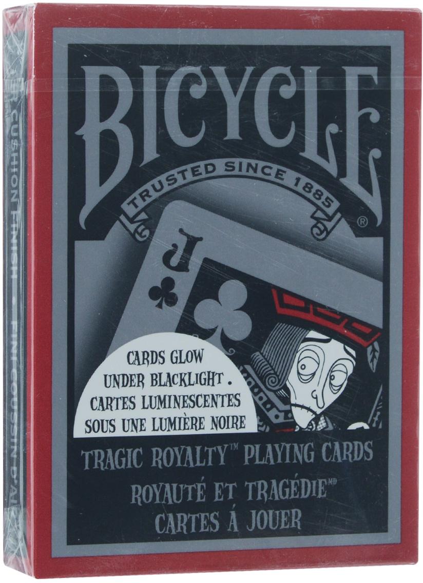 Карты игральные коллекционные Bicycle Tragic Royalty, 54 шт карты игральные коллекционные bicycle tragic royalty 54 шт