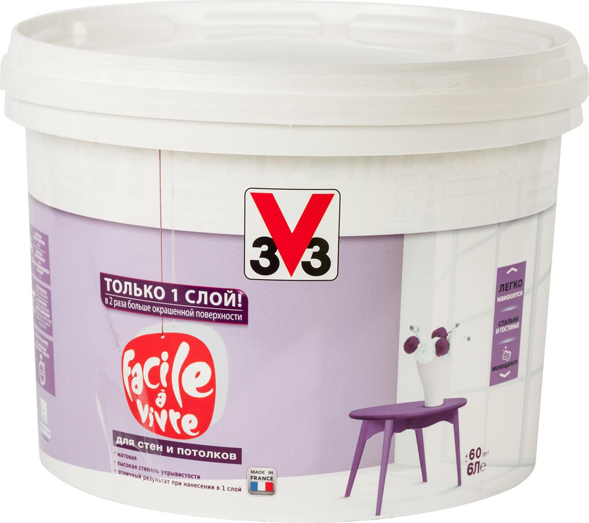 Краска для стен и потолков V33