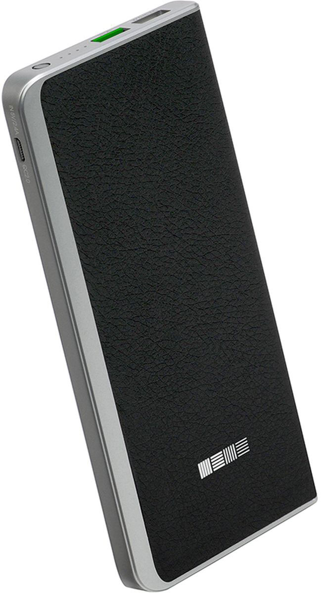 Фото - Interstep PB8000QC, Black внешний аккумулятор (8 000 мАч) аккумулятор