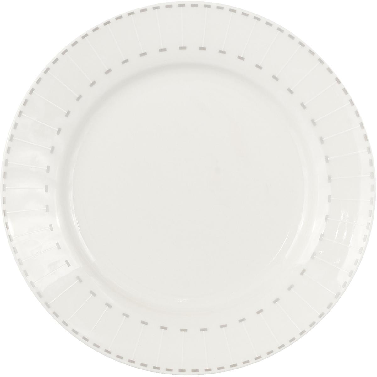 "Тарелка десертная Miolla ""Лайн"", 19 см"