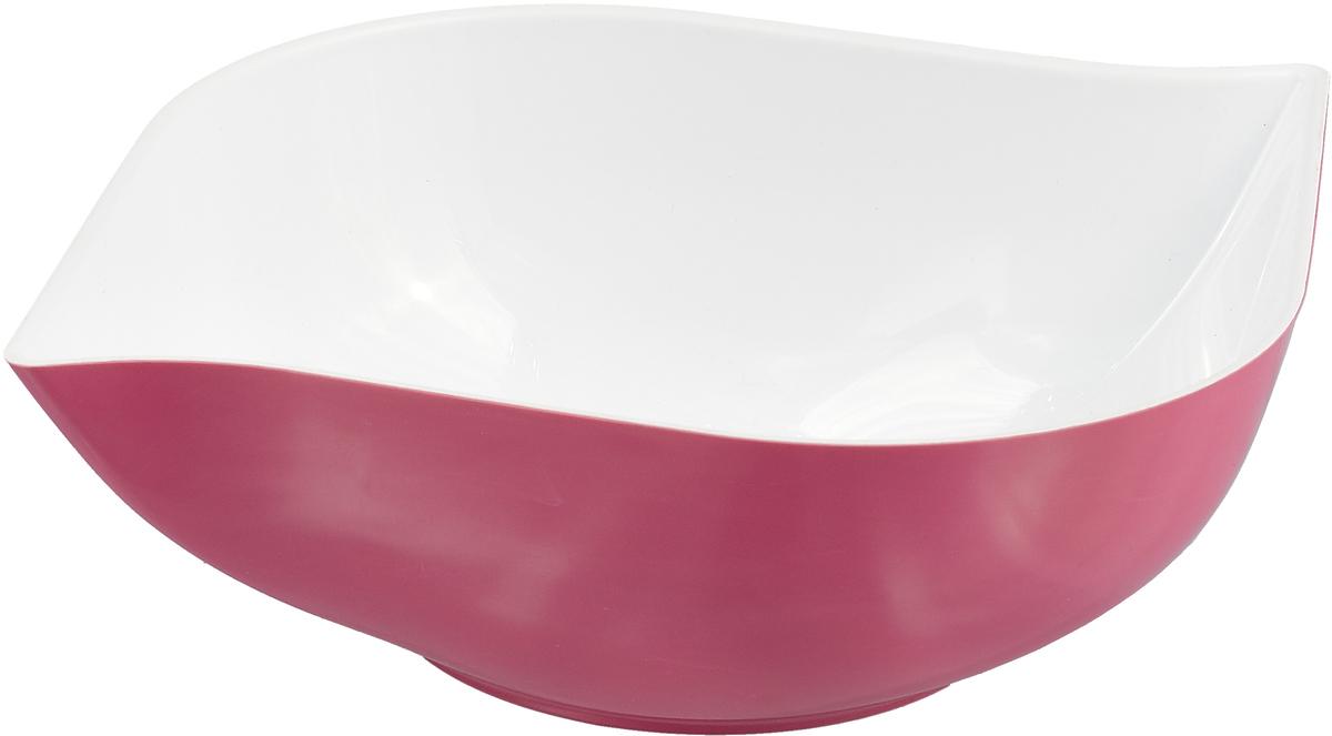 Салатник двухцветный Беросси Estel, цвет: розовый, 1,5 л батуркин п николенко л в огне войны