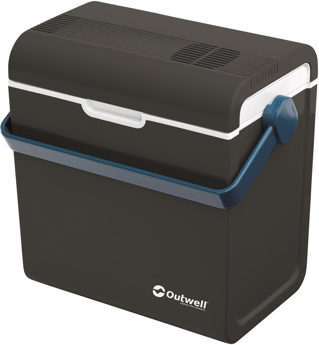 """Холодильник портативный Outwell """"ECOcool Lite Black"""", цвет: черный, 38 х 24.5 х 42 см, 24 л"""