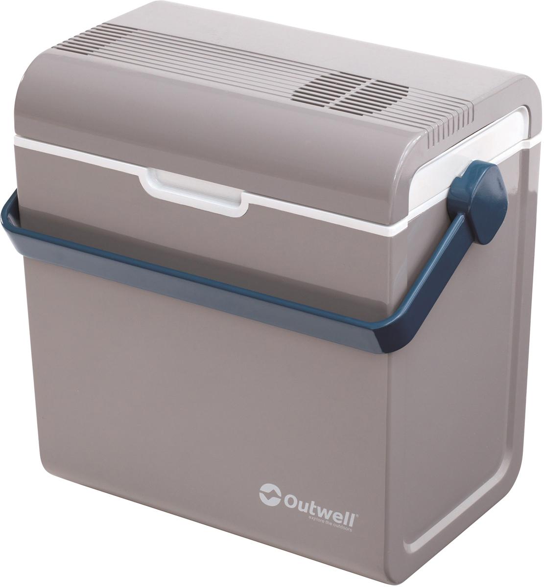 """Холодильник портативный Outwell """"ECOcool Lite Light Grey"""", цвет: серый, 24 л"""