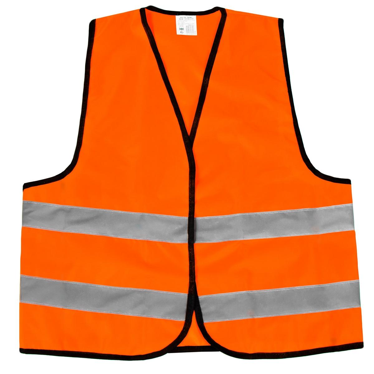цена на Жилет светоотражающий Rival Сигнальный, 2 класс защиты, цвет: оранжевый. Размер L